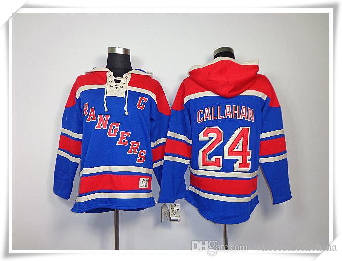 2019 Hoodies Jerseys Men ICE Hockey Rangers  24 Callahan 20 Kreider ... 9910bc7b46ec