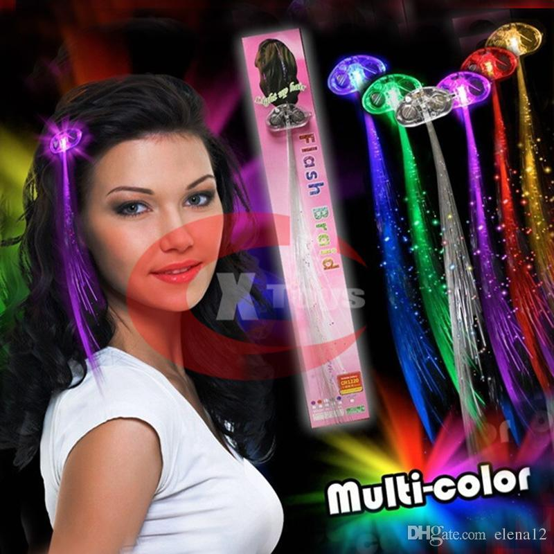 Light up led hair extensions looking for pink and multi colour see larger image pmusecretfo Choice Image