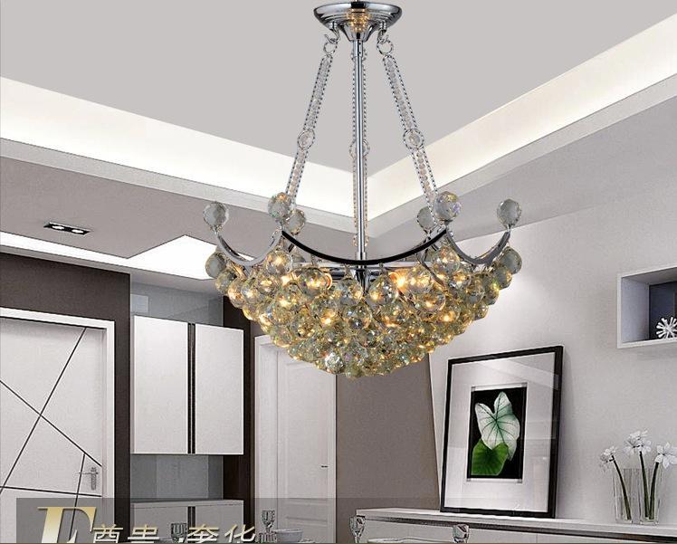 Ücretsiz Kargo Yeni Modern Kristal Tavan Işık Kristal Modern Oturma Odası Ev Aydınlatma Için LED Tavan Işık Lambası