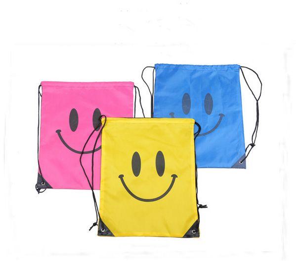 Smile Beam pack de portage Maillot de bain pour shopping Pochette de voyage Swim Smile bag Pour Serviette de bain Maillots de bain Lunettes DHL FEDEX