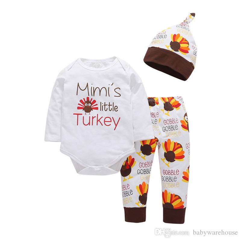 4623051fbb19 2019 Cotton Baby Girl Clothes Infant Toddler Colored Bird Pattern ...