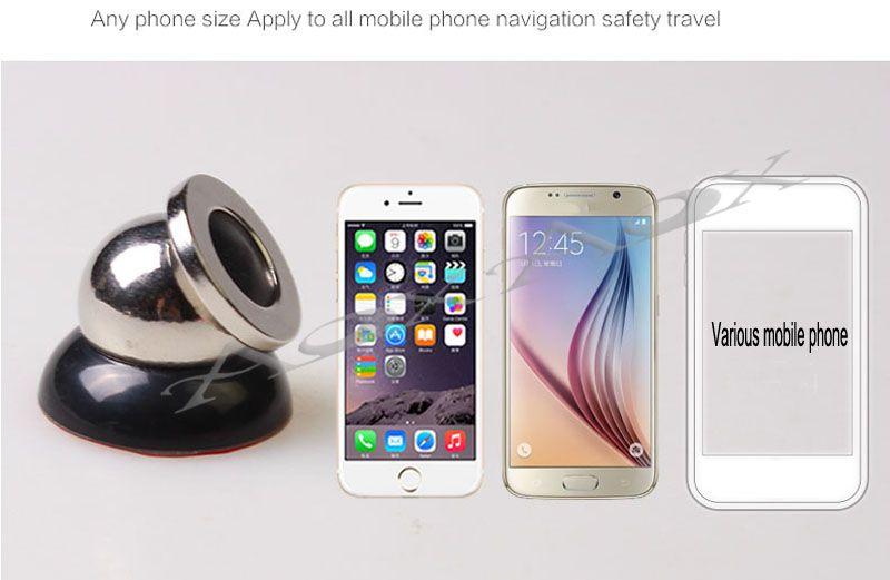 Titular Car Holder para accesorios de iPhone GPS Cradle Kit para Samsung Stand Display Support Magnetic Smart Phone Car Holder