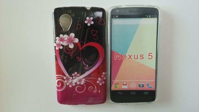 Sıcak Seksi Leopar Zebra Desen Retro Kaset Silikon Çiçek Kalp Stil Yumuşak Arka Kapak Kılıf LG Google Nexus 5 E980 Ücretsiz