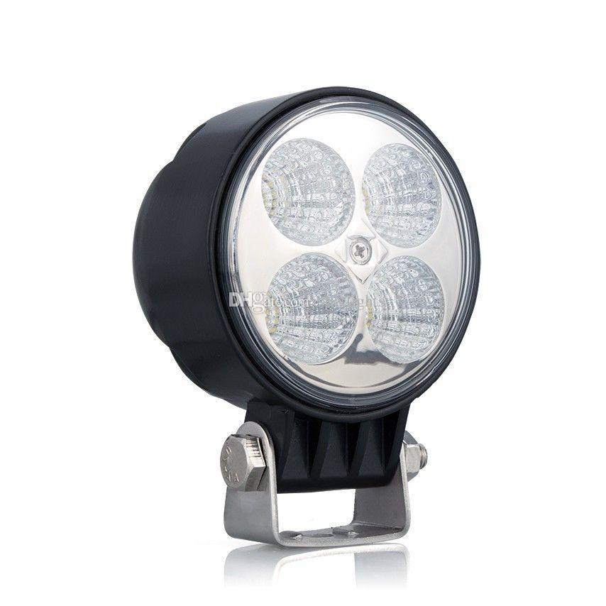 4 inç LED çalışma lambası 12 w su geçirmez LED çalışma ışığı Araba aksesuarları IP67 LED far kamyon için LED nokta sel ışık