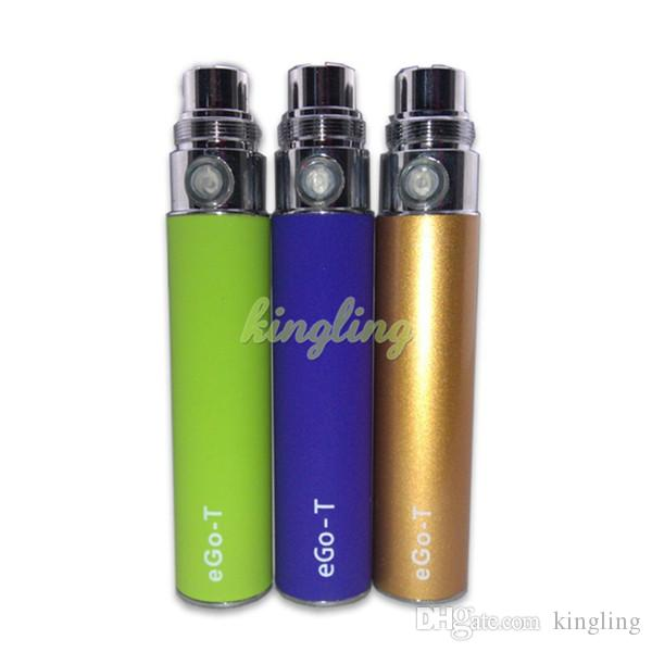 Mini Ego electronic cigarette battery ego t e cig electronic cigarette battery cigarettes cigs with 350mah with all color