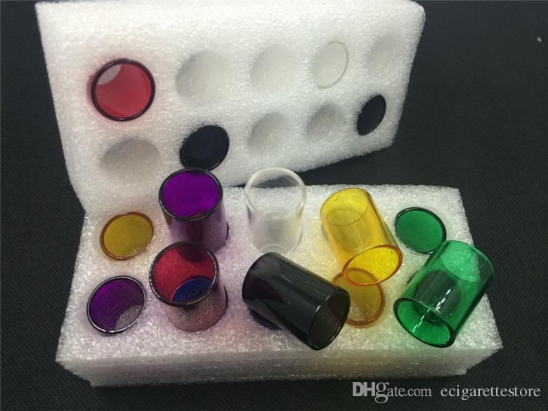 الملونة TFV 4 أنابيب زجاجية 8 أنواع Uwell ولي كانجر Subtank نانو Subtank مصغرة Subtank بالإضافة إلى اتلانتس V2 تريتون دي إتش إل الحرة سفينة