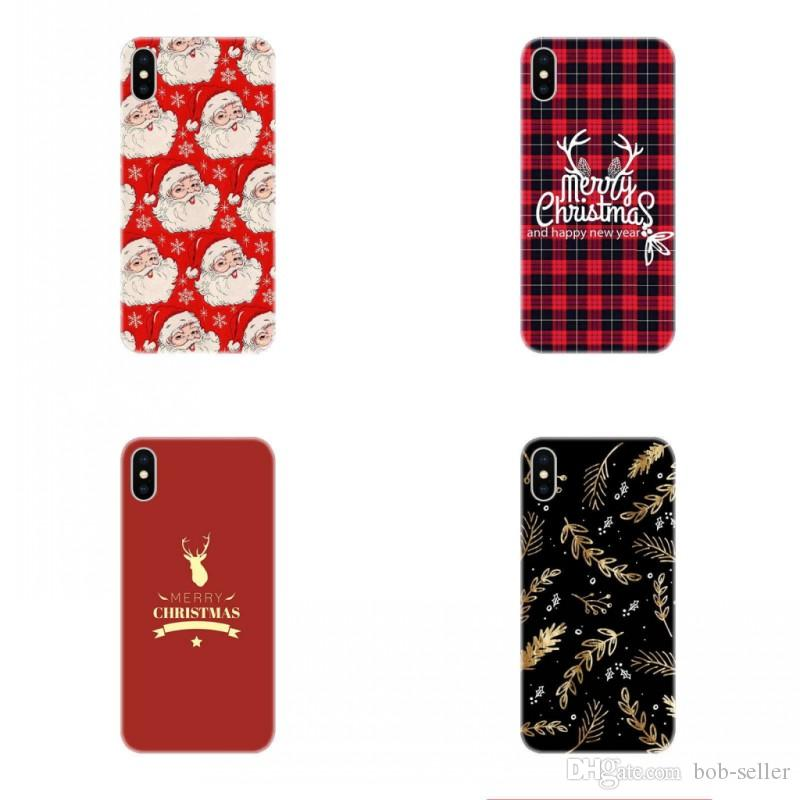 for apple iphone x case for iphone 8 7 plus iphone 6s tpu box creative christmas elk merry christmas gift cell phone cases mobile phone case phone covers