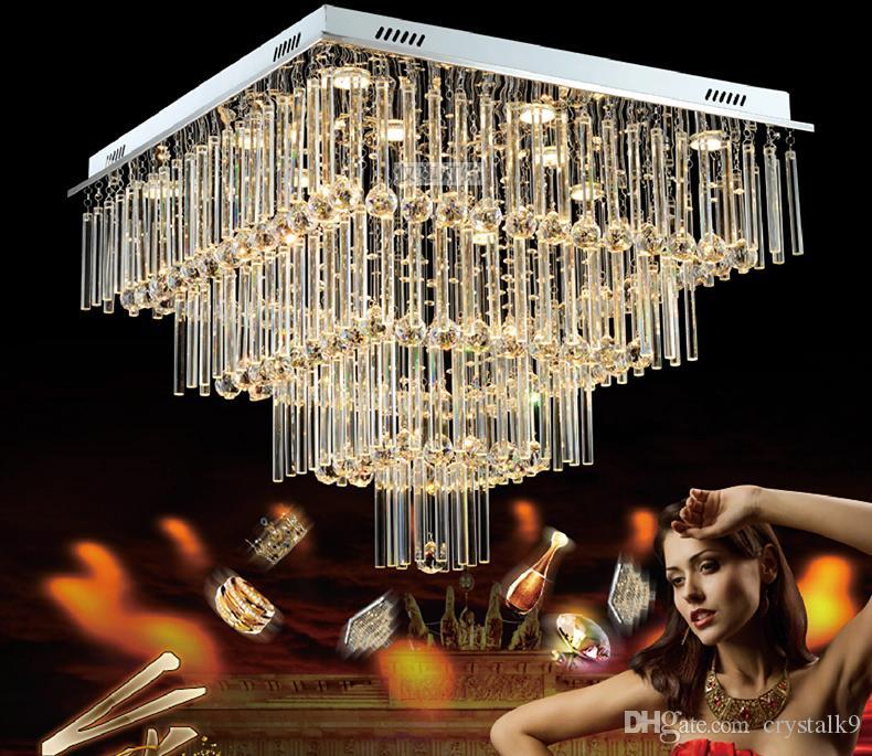Мода Творческий Кристалл Потолочный Светильник Роскошный Потолочный Светильник Современный Простой Стиль Ресторан Гостиная Лофт Подвесной Светильник