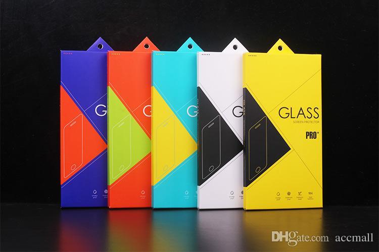 حزمة البيع بالتجزئة مربع حامي الشاشة الغوريلا الزجاج المقسى ورقة مع الداخلية لفون 6 6 زائد 5.5 بوصة 5 5 ثانية سامسونج ملاحظة 4 3 2 s5 s4 i9200