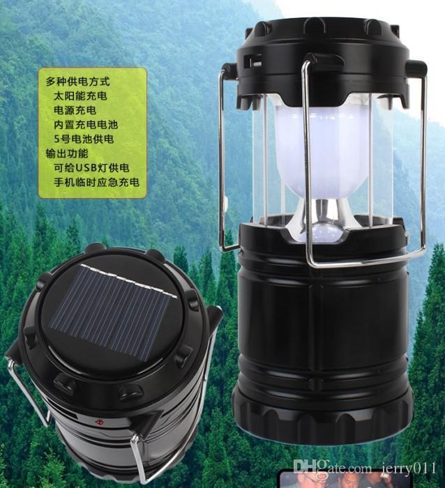Portable Solar Charger Lantern Led Camping Lantern