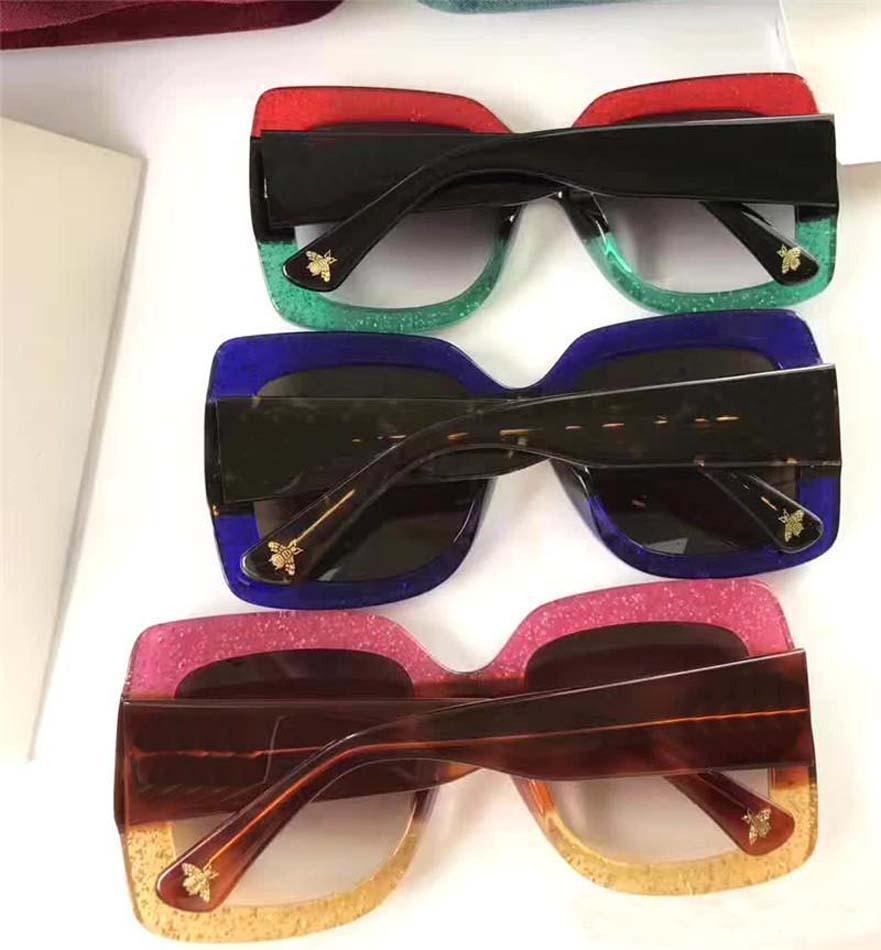Marke Designer Sonnenbrillen Qualität Oversiezed Sonnenbrille Gläser 083 Männer Frauen Sonnenbrille Objektiv Unisex mit Original Fällen und Box