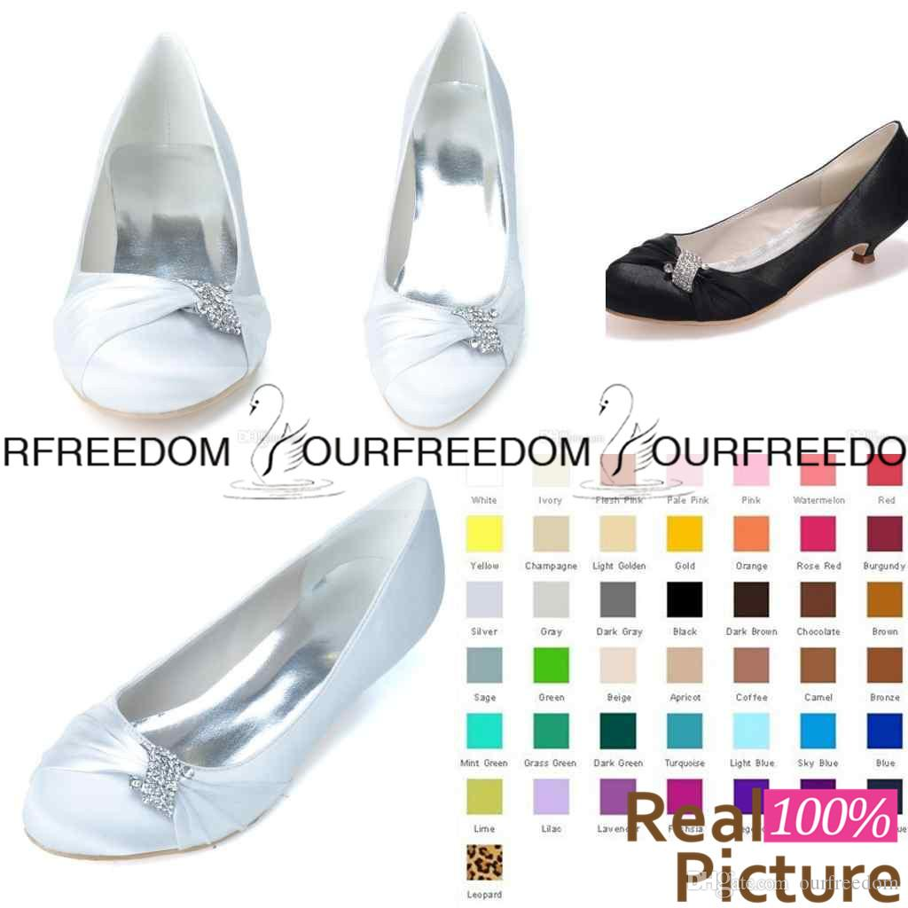 low priced 12e83 f6a30 9001-03 Simple White Flats Weding Schuhe Sparkly Kristall nach Maß  Brautjungfer Schuhe Frauen Schuhe Abend Prom Party Schuhe hohe Qualität