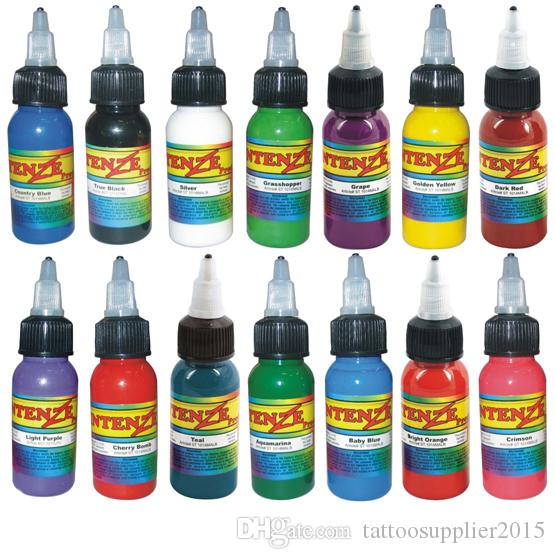Mix Colors Tattoo Paint 30ml1oz Bottle Of Ink Tattoo Permanent