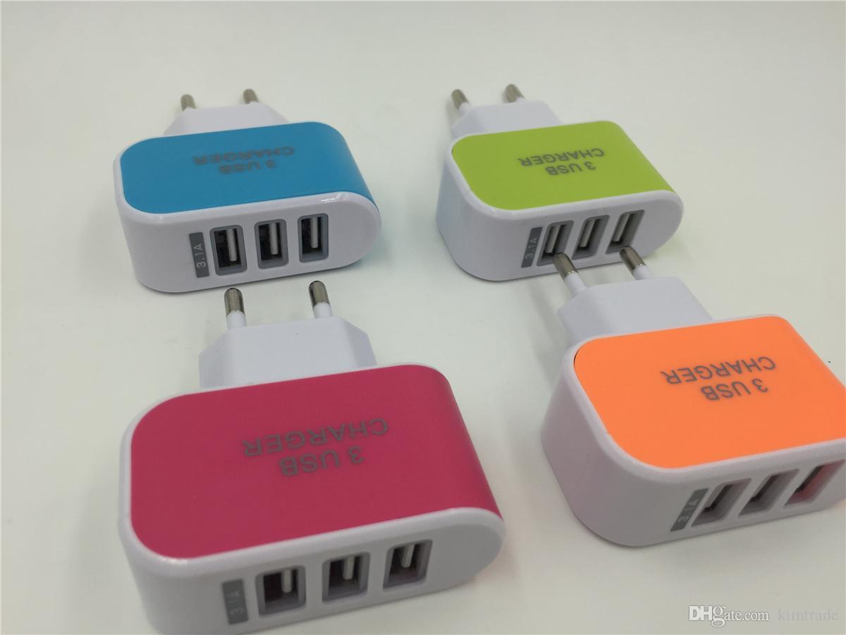 Distributor Charger Candy 3 USB Murah dan Lengkap