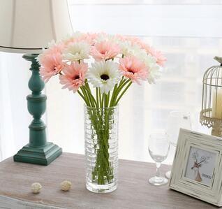 fiore di seta artificiale sole fiore gerbera chrysanthemi e fiori decorativi del partito festivo e partito vendita calda di trasporto libero SF07