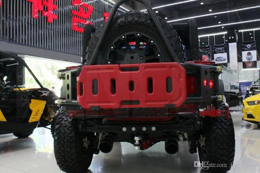 Hot Sale Practical Long-Haul Red 20L Fuel Tank Can Pack For Offroad SUV ATV Motorcycle Tricycle