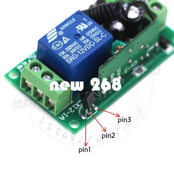 2018 Dc Wireless Long Range Remote Relay Control Light Switch 12v