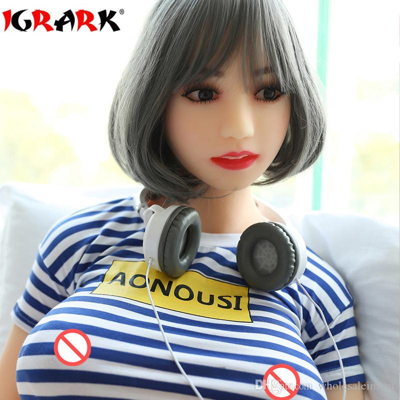 igrark TPE bambola d'amore vera vagina seno anale orale, miglior giocattolo del sesso, silicone pieno pieno bambola realistica del sesso gli uomini, 165cm158cm140cm vera bambola