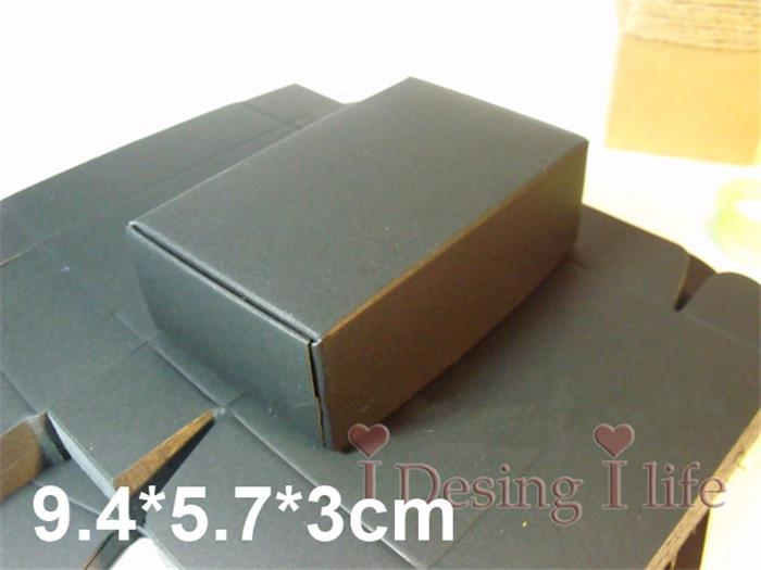 Black kraft paper box handmade soap business card gift cosmetic free shipping black kraft paper box handmade soap business card gift cosmetic packaging boxes 94573cm a2 colourmoves Gallery