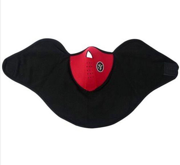 5 шт. Недавно неопрена шеи теплая маска для лица вуаль спорт мотоцикл велоспорт лыжи сноуборд гвардии черный синий красный цвет бесплатная доставка