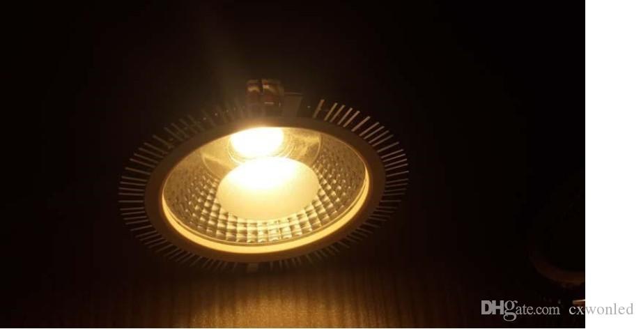 E27 E26 GU10 LED PAR30 luci ultra luminosa 18W COB dimmerabile lampadine LED 30/60 angolo bianco caldo / freddo CA 110-240V + Garanzia 3 anni
