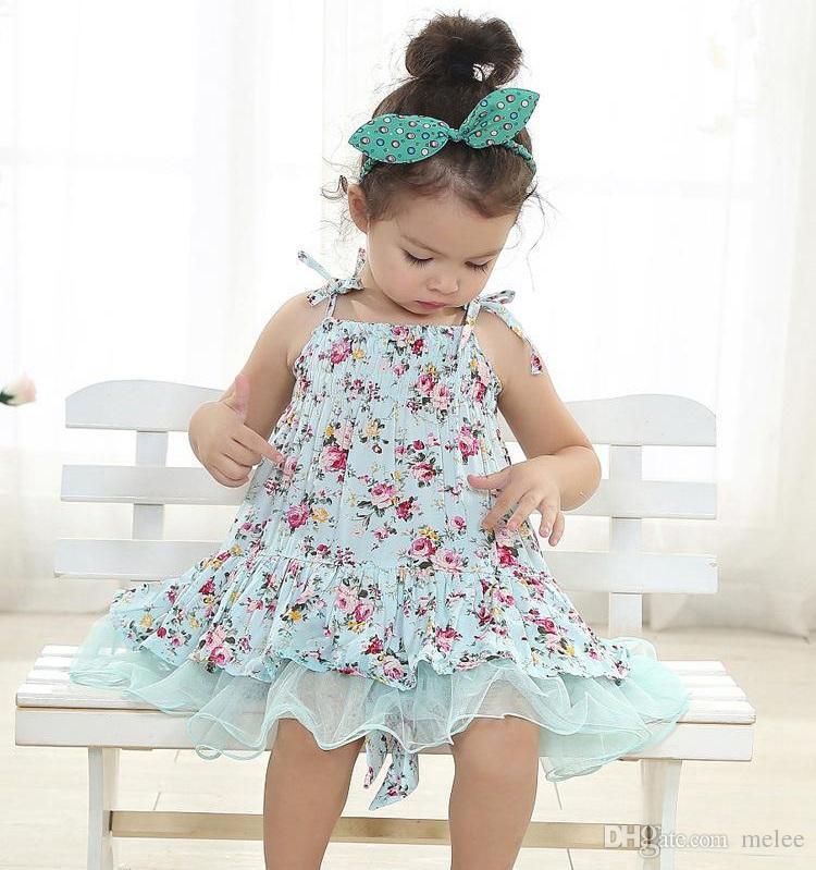 Dzieci Dzieci Dzieci Vintage Kwiat Tutu Sukienka Kwiatowy Tutu Dress Pettiskirt Tulle Spódnica Koronkowa Dress Tube Dress Balet Dress Princess Różowy