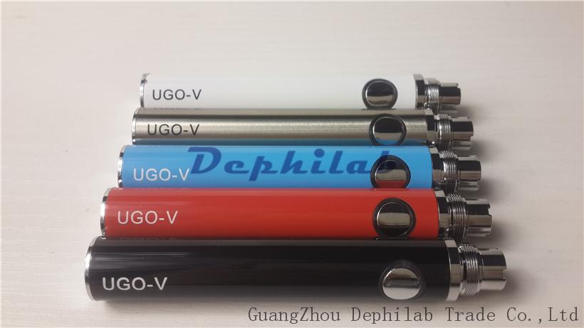 Ugo V Pil E Çiğ Evod Geçidi USB Alt Şarj Ego Elektronik Sigara Şarj Edilebilir Piller CE4 1453 Için 650 mah 900 mah Atomizörler
