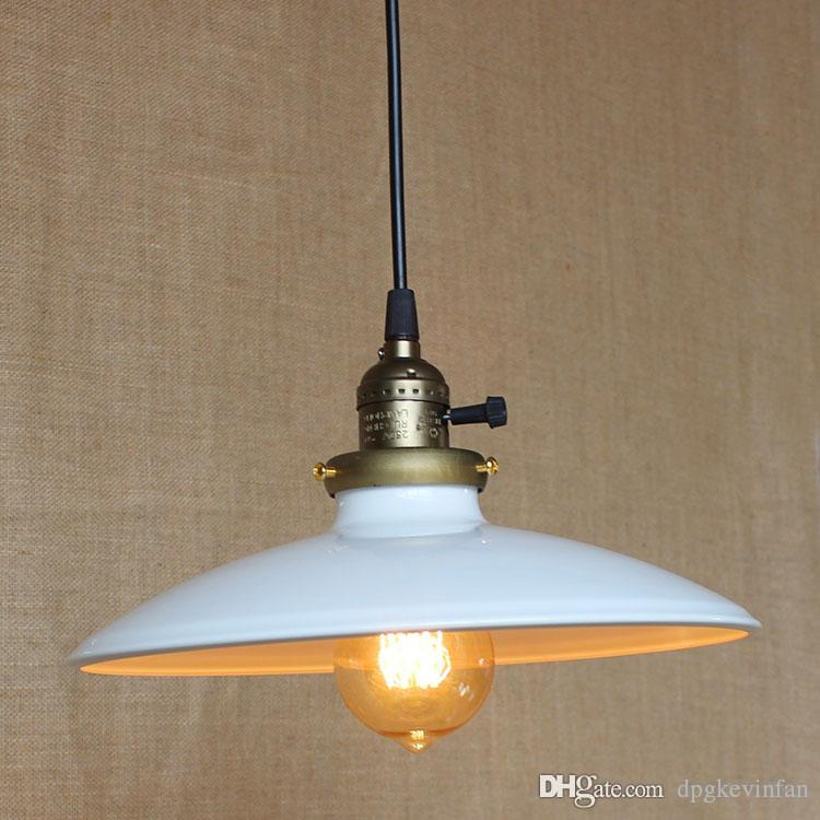 Industrial Vintage Pendant Lamp Ceiling Light coffe lighting Chandelier fixture