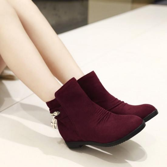 Big Size 34 43 Lady Comfortable Dress Shoes For Women Sexy Wedges ...