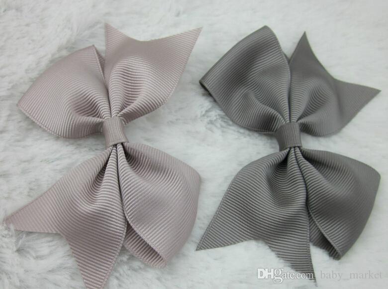 3,5-4 дюйма Grosgrain Ribbon Hair Bows ,, Baby Hair Bows Girl Hair Bows с клипсом, 64 шт.