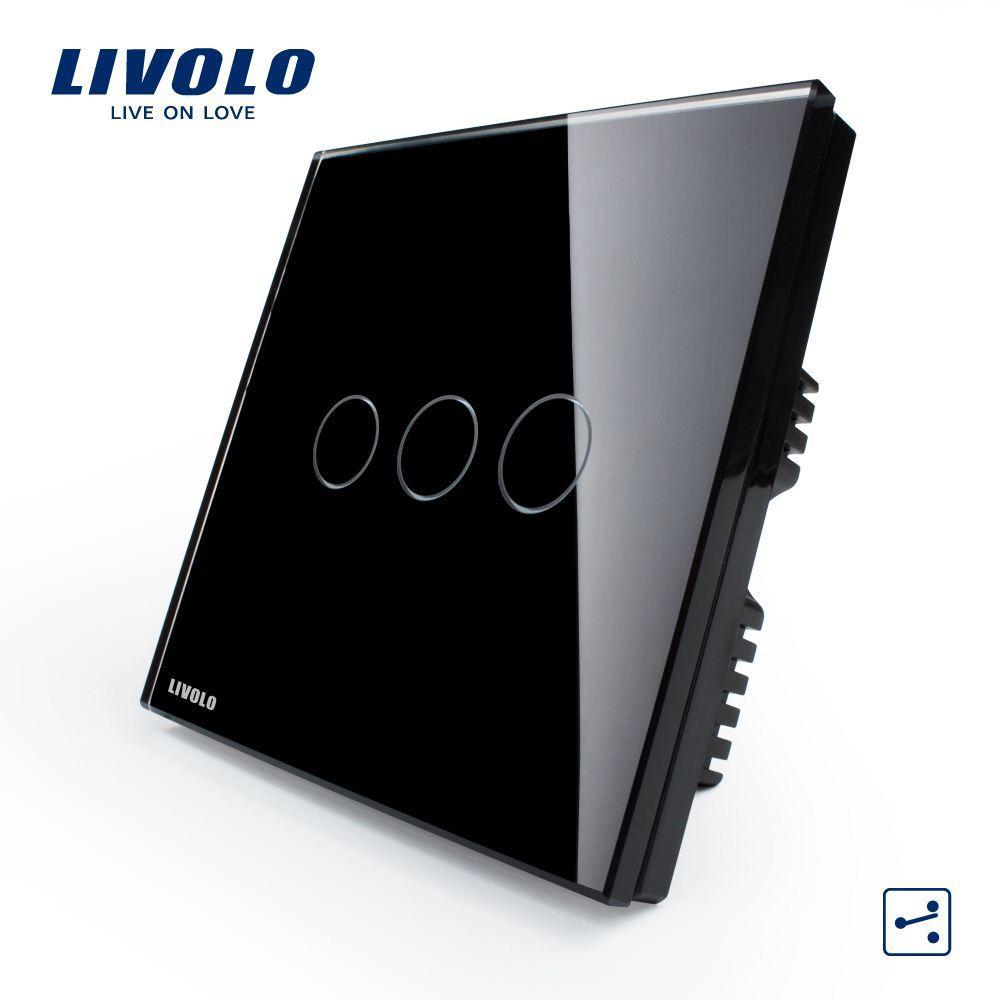 Großhandel Livolo Schalter / Schaltsteckdose / Wand Smart Switch ...