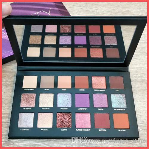 Free Shipping by ePacket Top quality beauty DESERT DUSK Eyeshadow 18 colors Palette Shimmer Matte Eye shadow Pro Eyes Makeup + Gifts