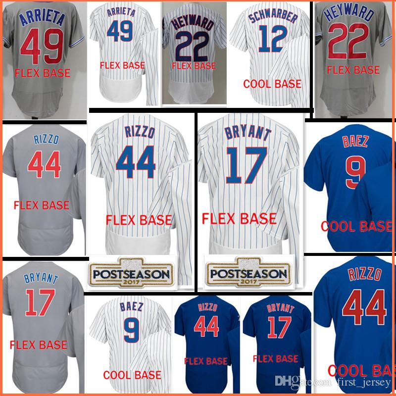556d2d1cf ... where can i buy wholesale top sales 44 anthony rizzo jersey men 12 kyle  schwarber 23