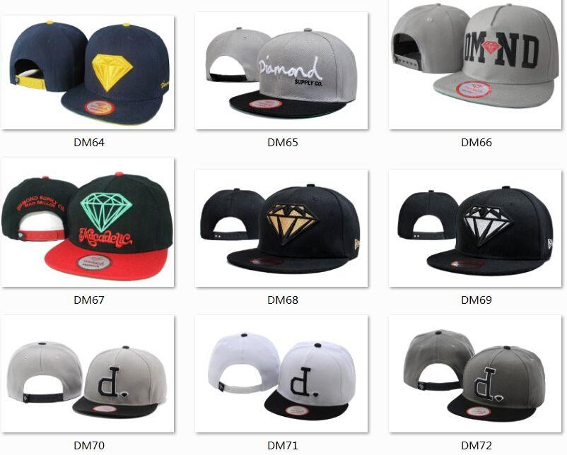 Hotsale Brand Diamond Hats 5 Panel Caps Snapback Hats Cool Hats Hip Hop Caps  Men Fashion Custom Hats Competitive Hats Top Quality Hats Men Hats Zephyr  Hats ... 033695c5dc3