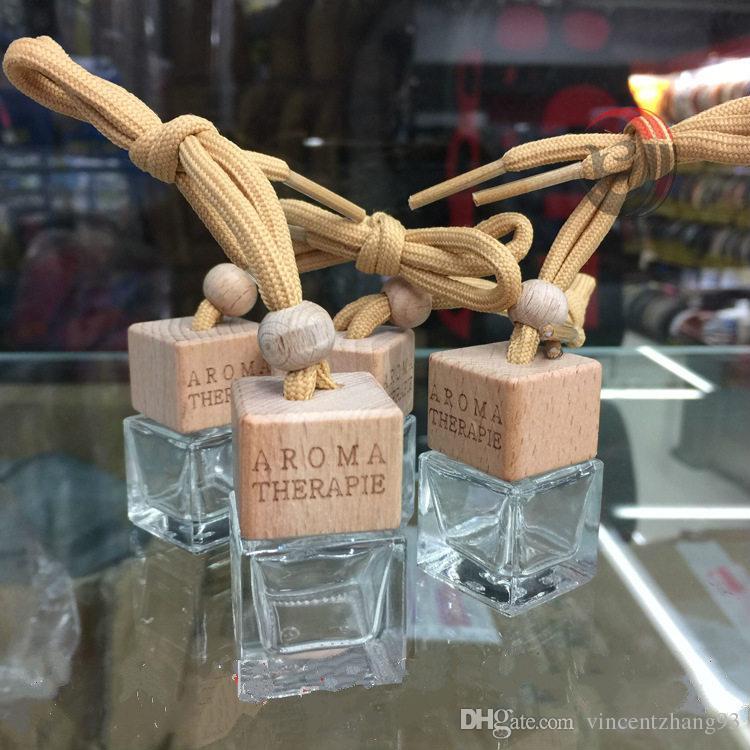 8 ml Car Scenter Car Désodorisant Décoration Huile Essentielle Parfum Bouteille Vide Coloré Hang Rope Pandent Aromathérapie Diffuseur