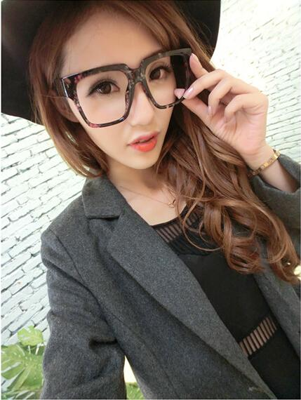 2018 New Fashion Ulzzang Large Frame Sunglasses Frames Cheap Glasses ...
