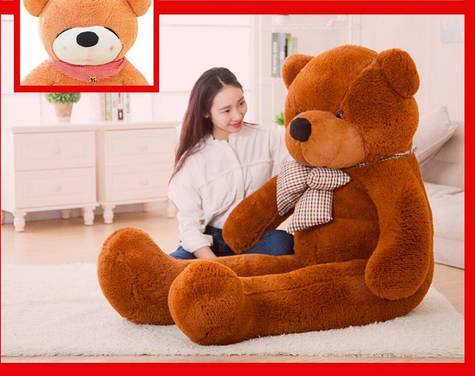Boneca de pelúcia Brinquedos Boyds Ursinhos de Pelúcia Brinquedos de Natal 100 cm 1 m 1 metro Amantes de Urso de Pelúcia Gigante Grande Abrace Urso Bichos de pelúcia Presente de Aniversário