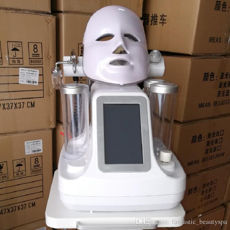Neue 7in1 Wasser Dermabrasion Haut Sauerstofftherapiegeräte Facial Spas Hydro Dermabrasion Salon Gesicht Deep Clean Water Peel Machine