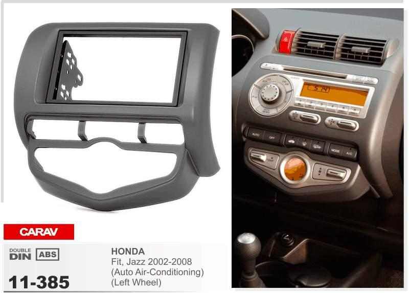 Carav 11 385 Top Quality Radio Fascia For Honda Fit Jazz Auto Air