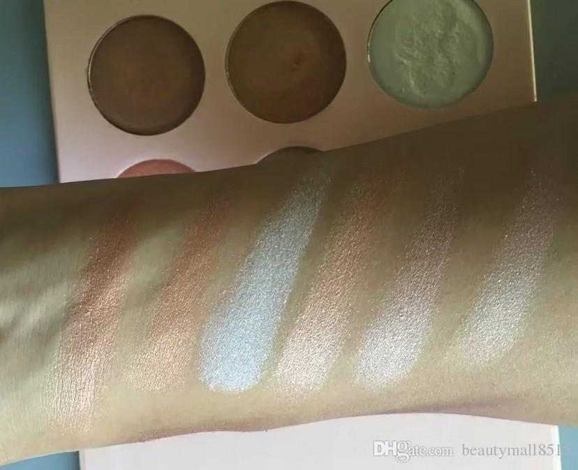 In Stock Hot Cosmetics Highlighter and Bronzer Kit Best Quality Illuminated Glow Pressed Powder Set Contouring Makeup Palette