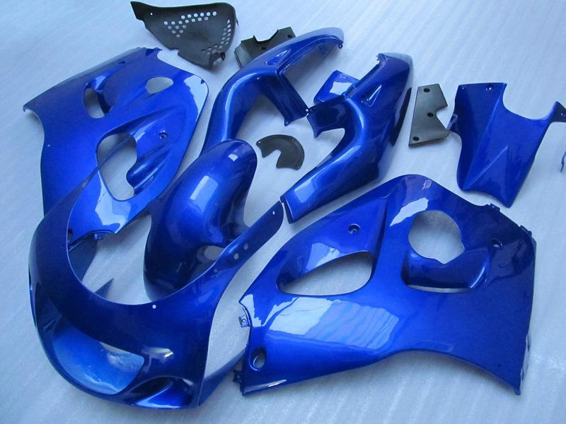 ABS полный комплект обтекателя для SUZUKI GSXR600 GSXR750 1996 1997 1998 1999 2000 GSXR 600 750 96-00 ярко-синий черный пластиковые обтекатели GB28