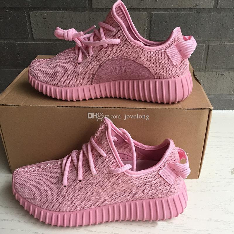Girls Pink Adidas Shoes