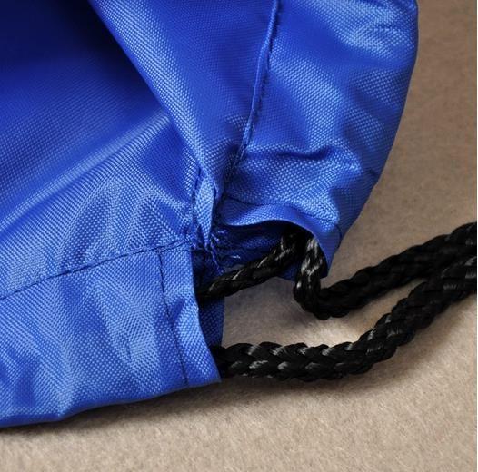 Atacado impermeável sacos de cordão ombros mochila equitação esportes sapato de armazenamento