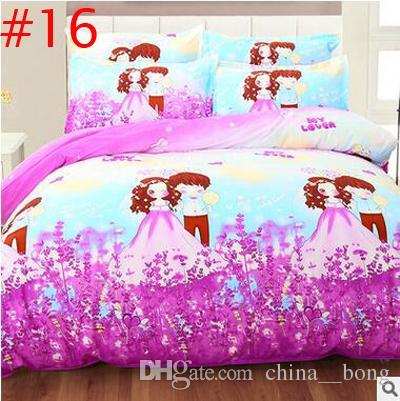 Morbido copripiumino 3D Set biancheria da letto creativa 3d Biancheria da letto 4 pezzi copripiumino + lenzuolo + 2 * fodere cuscini Ocean Theme stampato lenzuola lenzuola trapunte DHL