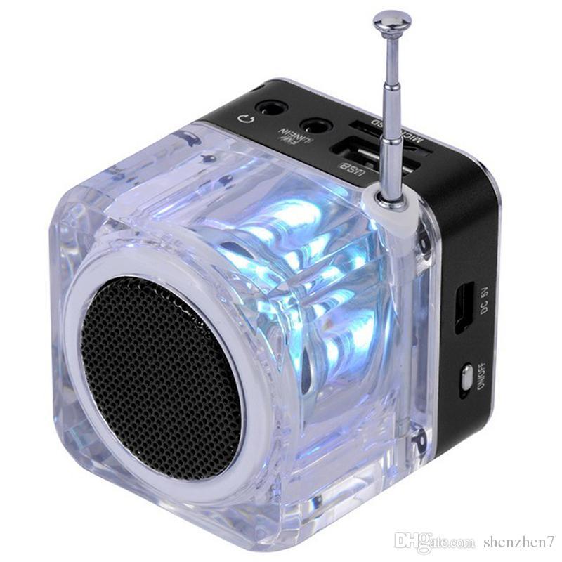 Nizhi TT 028 Lautsprecher FM Radio Funktion Tragbare Musik-Player für iPhone 6 Plus 6S Samsung SiPod Dhl-frei MIS123