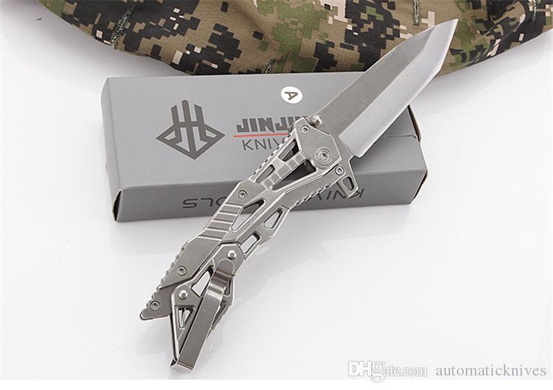 Miker alta qualità tasca Knife 3Cr13 pieghevole lama Multi coltelli da caccia tattica di sopravvivenza lama di campeggio esterna di pesca trekking strumenti EDC