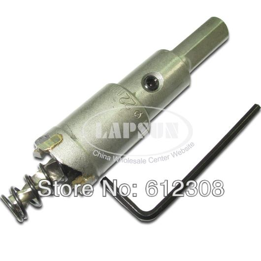 22mm 30mm 35mm 45mm 50mm 65mm Carbide Tip T.C.T Metal Cutter Hole Saw Drill Bit Set Kit for Stainless Steel Alloy Wood
