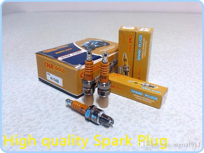 High quality Heavy duty motorcycle racing spark plug,motorbike ignition plug H-74S,OD10mm X 12.7,/1lot