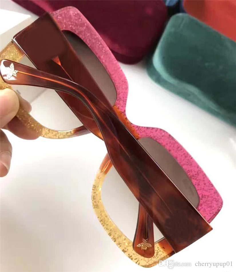 Diseñador de la marca Gafas de sol Gafas de sol de gran calidad Oversiezed 083 Hombres Mujeres Gafas de sol lentes Unisex con estuches y estuches originales