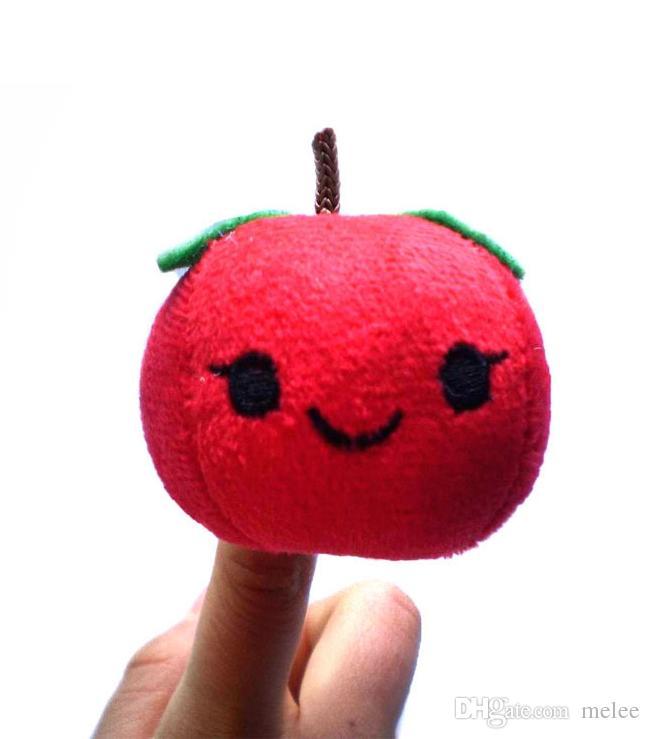 100 ADET / LOTFruit Sebze parmak kuklaları set Parmak Kukla / Bebekler / Oyuncaklar Hikaye anlatan Sahne / Araçlar Oyuncak Modeli Bebekler / Çocuklar / Çocuk Oyuncakları, Meyve